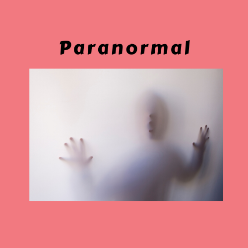 "Book Genre Block - ""Paranormal"""