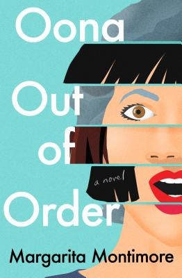 Oona Out of Order Cover with girl's face and book title