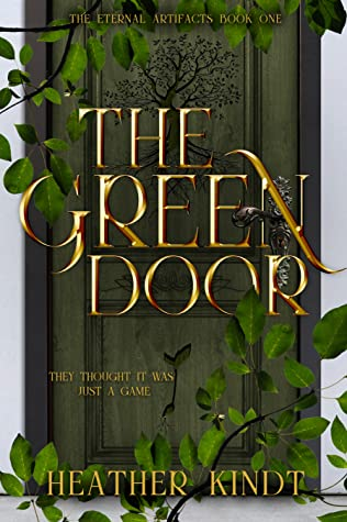 The Green Door book cover.  A green door covered with leaves.