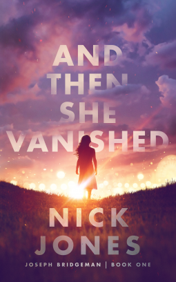 Book Cover - Girl walking into sunset