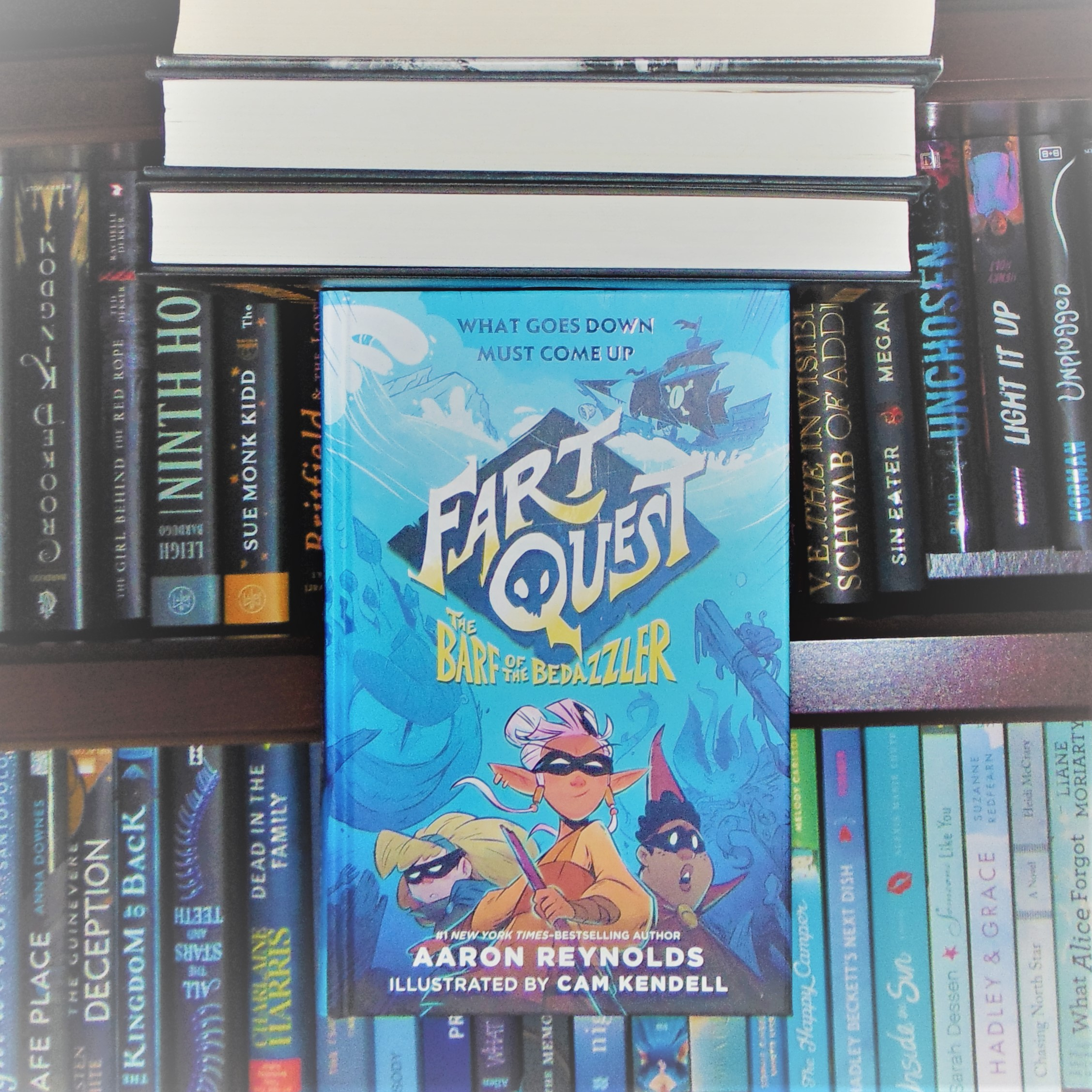 """Book """"Fart Quest"""" in f"""