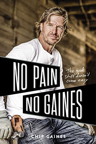 Book cover with author Chip Gaines