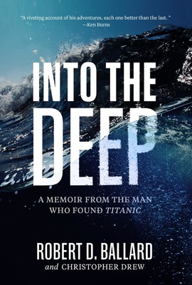 Into the Deep book cover with words in big wave