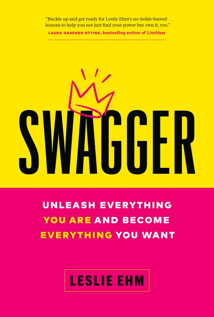 """Book Cover """"Swagger"""" with crown drawn over """"A"""" in Swagger"""
