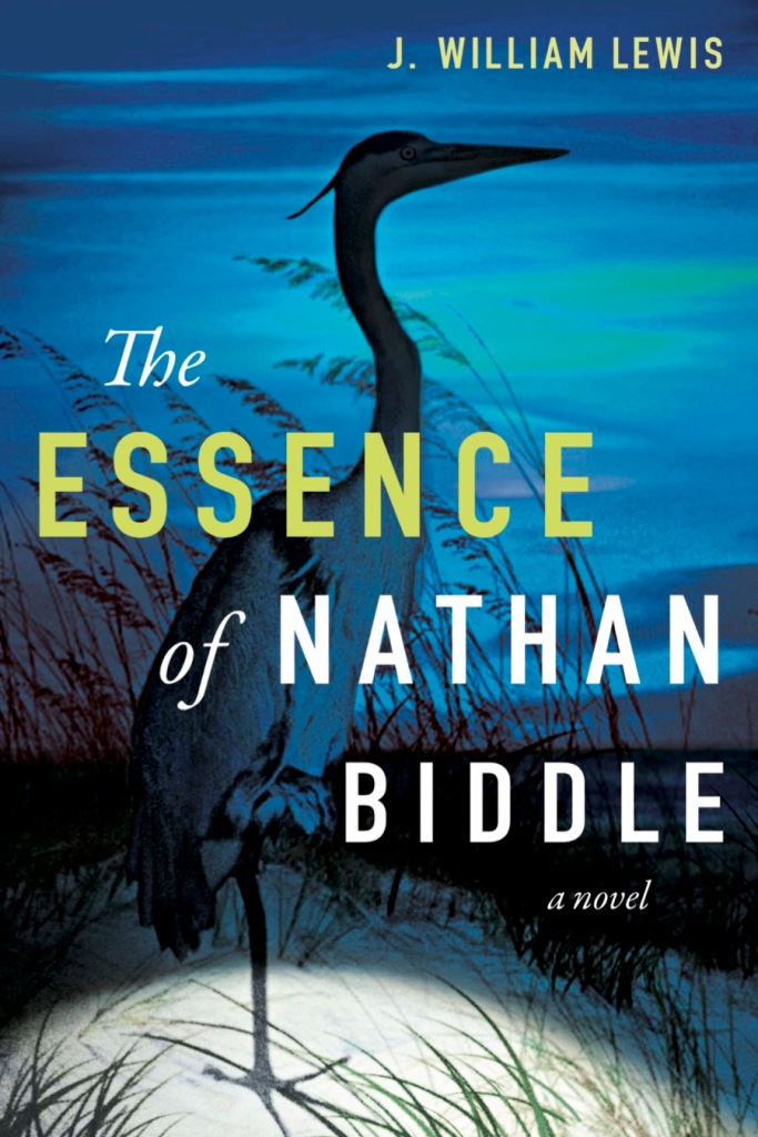 The Essence of Nathan Biddle book cover with large bird