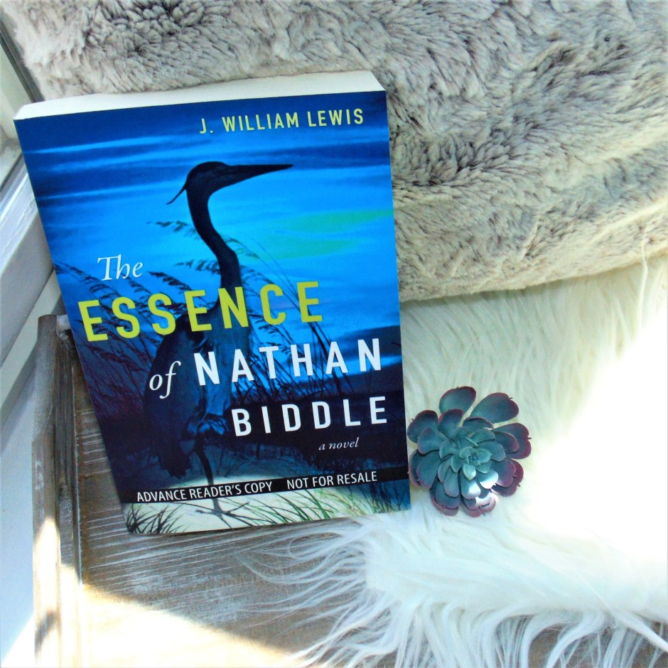 The Essence of Nathan Biddle book on wooden tray and fuzzy pillow
