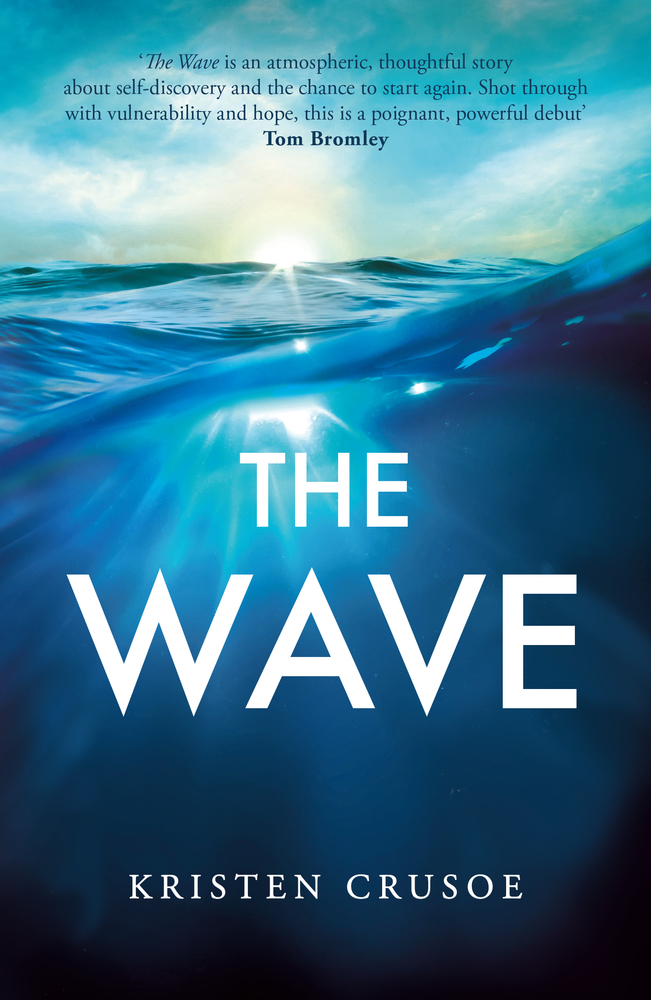 Book Cover The Wave with large wave