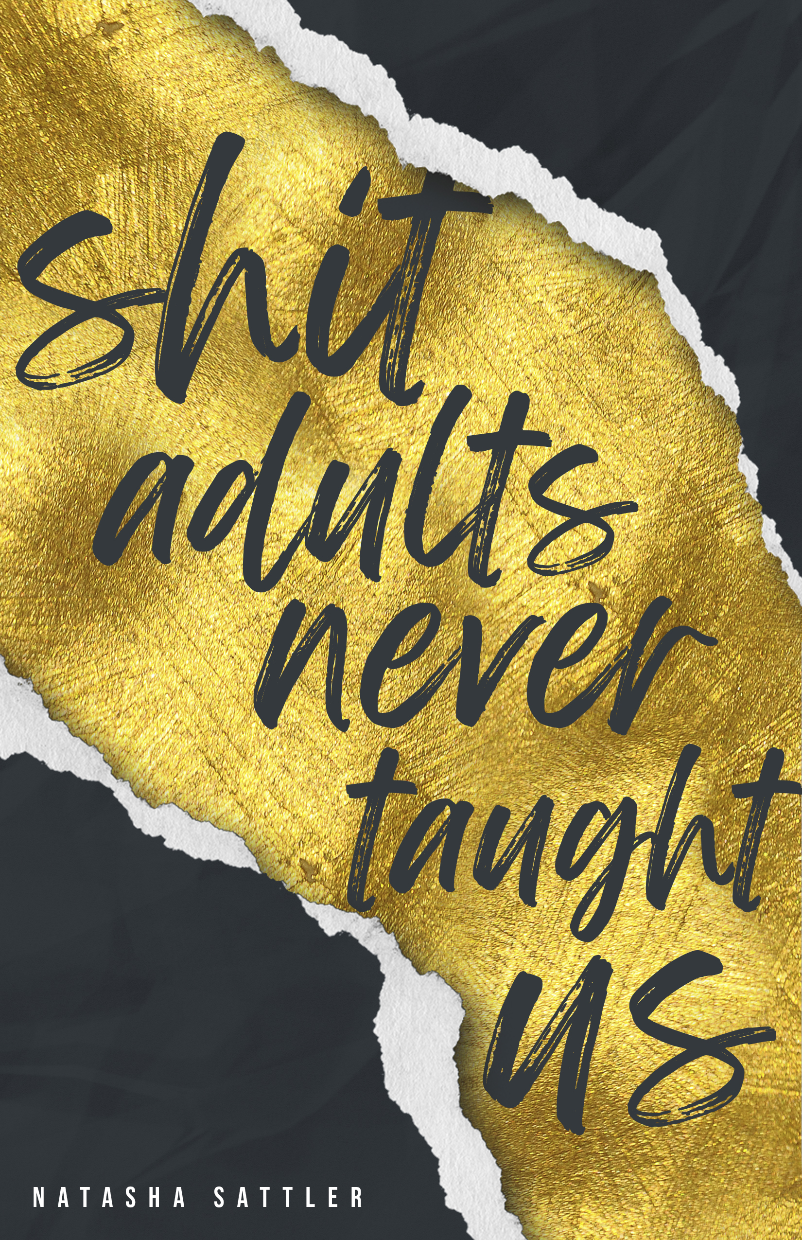Shit Adults never taught us cover