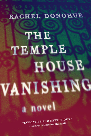 The Temple House Vanishing Book cover with title and