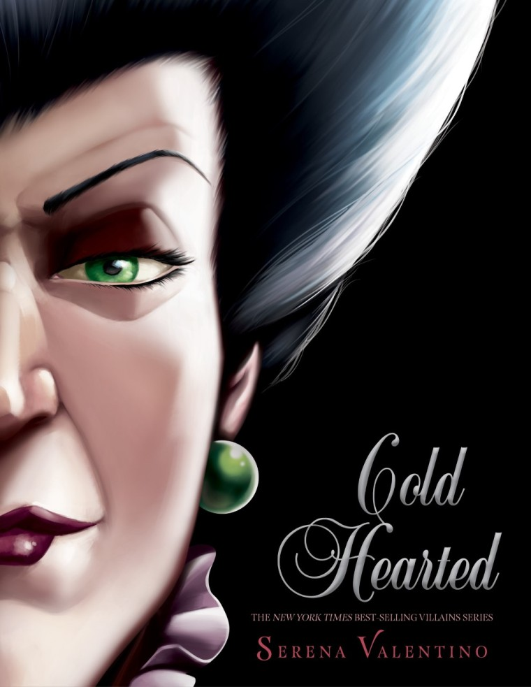 Cold Hearted book with Lady Tremaine's face