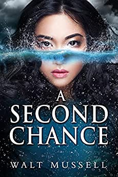 A Second Chance book cover with woman's face half in and half out of water