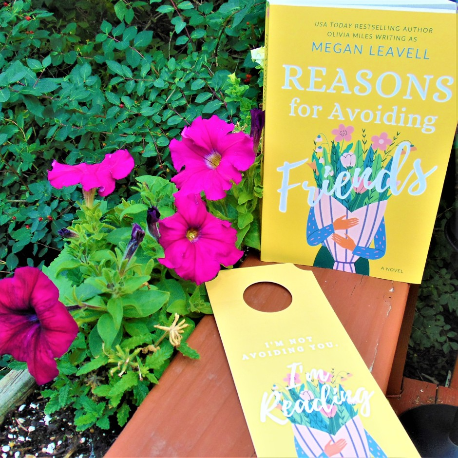 Reasons for Avoiding Friends book with flowers