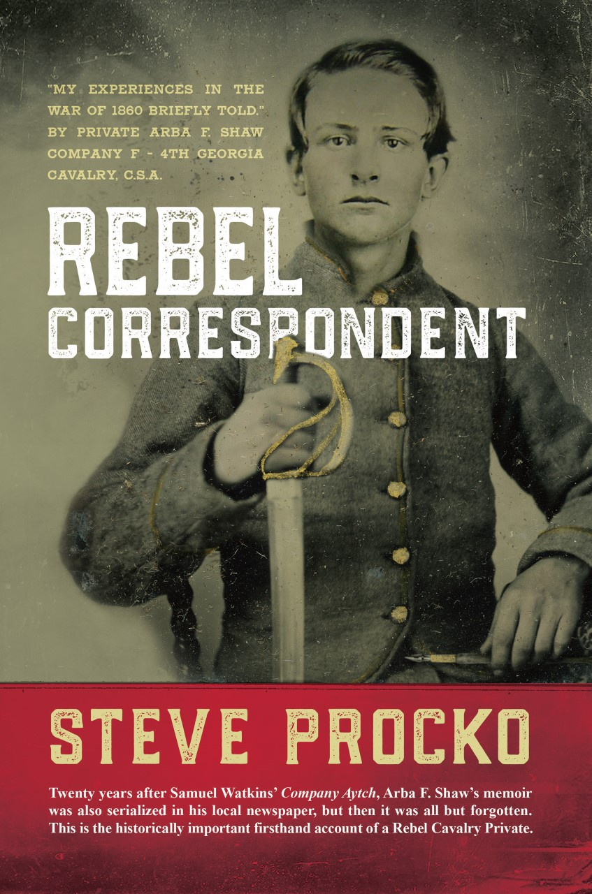 Rebel Correspondent book cover with soldier