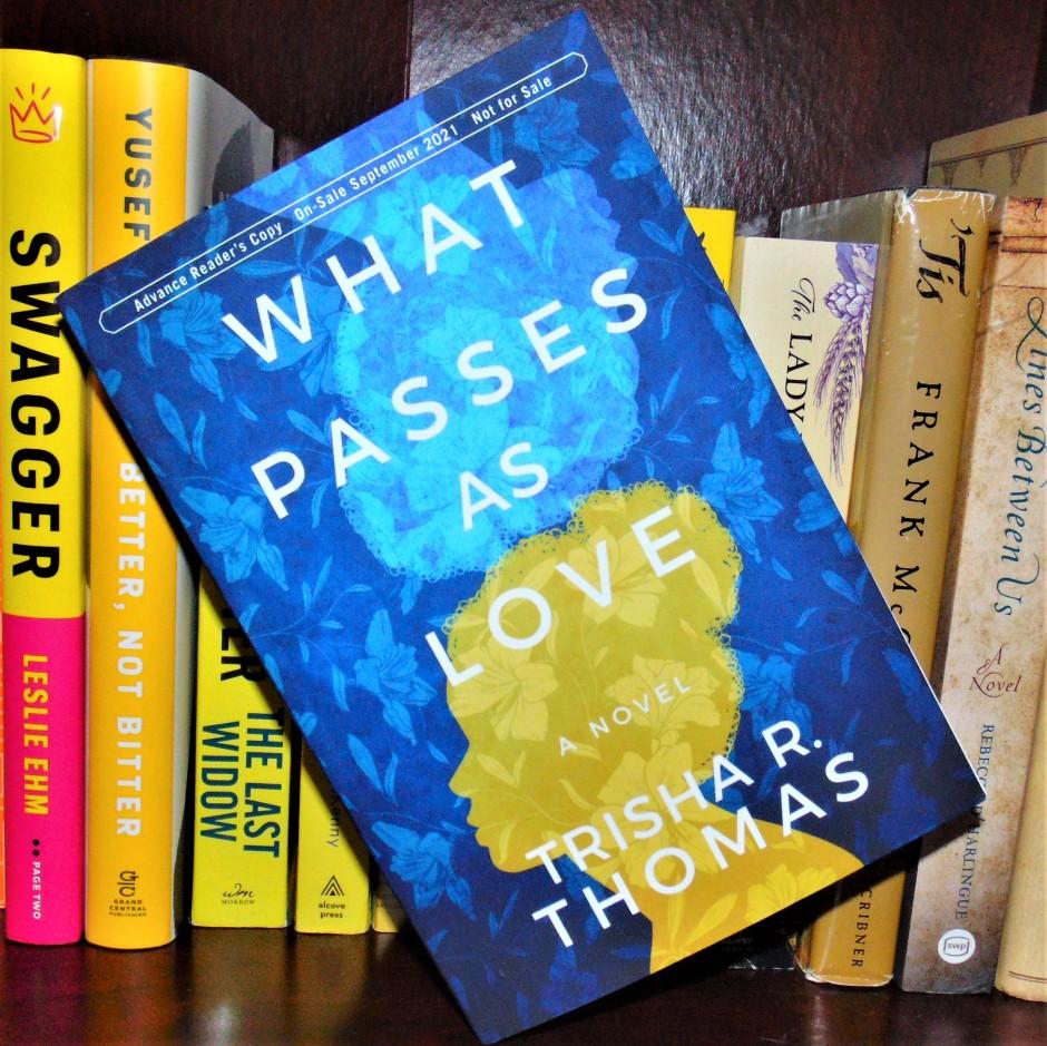 What Passes as Love book on bookshelf