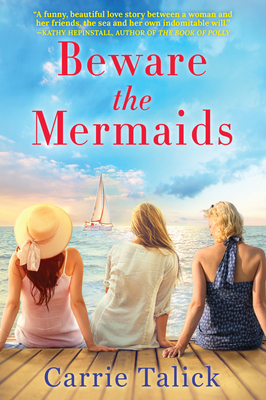 Beware the Mermaids book cover with three girls on a dock