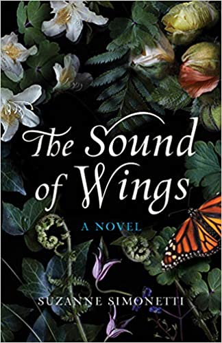 The Sound of Wings book cover with flowers and butterfly
