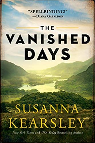 The Vanished Days book cover with mountains and valleys